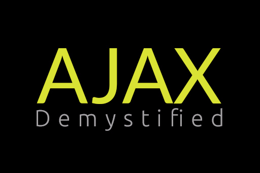Ajax demystified
